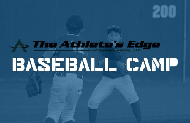 The Athlete's Edge – Summer Baseball Camp