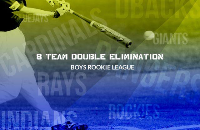 2016 Rookie League Championship Bracket