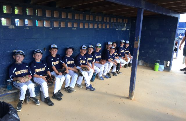 8U-A All-Stars Opened today at Mercersburg Tournament