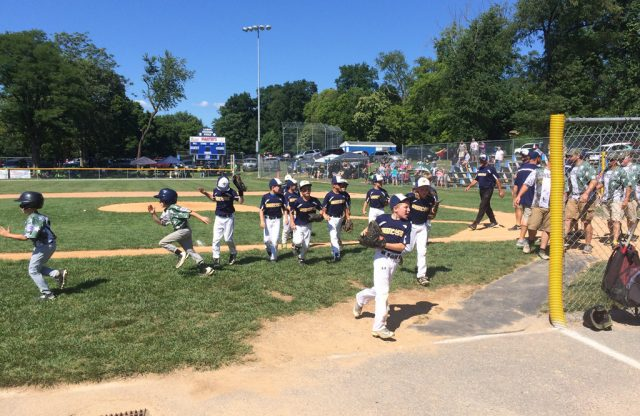 8U-A All-Stars Get a Win at Opening Day of Rally at Valley