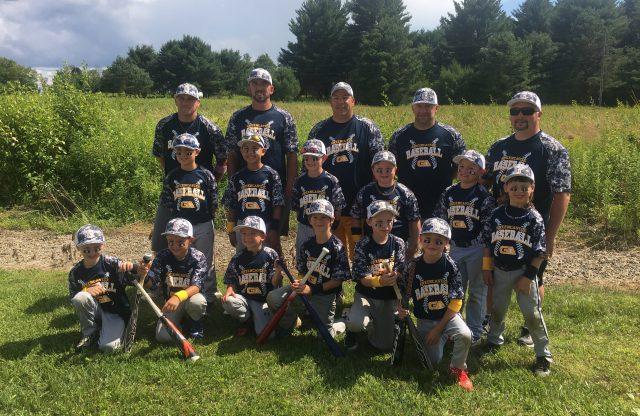 8U-B team takes 3rd in Ridgeway Tournament