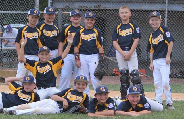 The Greencastle 10U-B All Stars Defeat Dillsburg