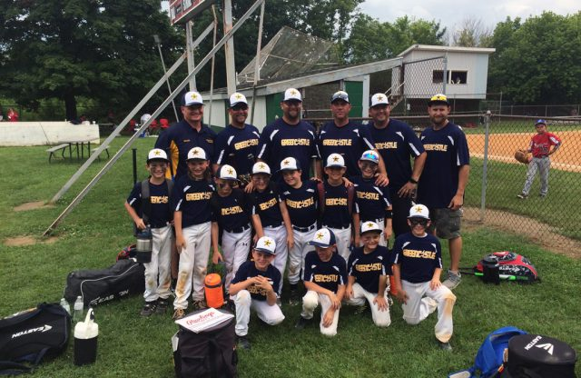 8U-A All-Stars End Tournament Season