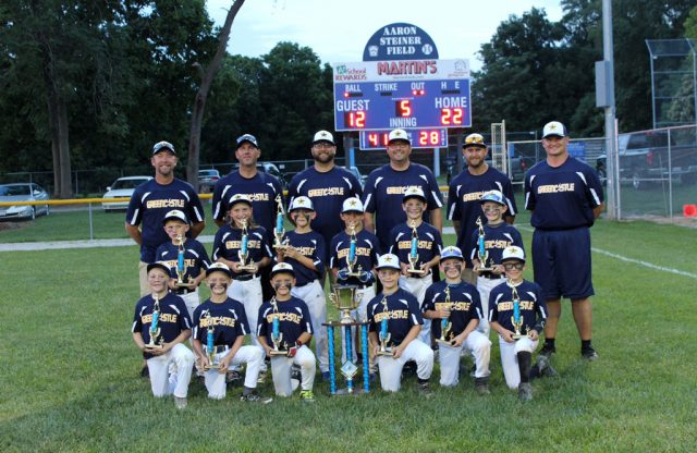 8U-A All-Stars Win Rally at Valley Championship!!